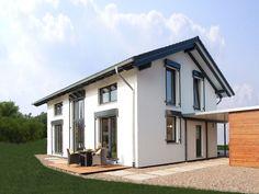 Passivhaus mit Satteldach-Musterhaus Wuppertal - Partner-Haus - Weitere Ansichten inkl. Grundrisse auf Musterhaus.net