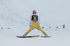 Skispringer Severin Freund beim FIS Skispringen Weltcup in Engelberg / Schweiz | Sportfotograf Kassel http://blog.ks-fotografie.net/pressefotografie/fis-skispringen-engelberg-schweiz-fotografiert/