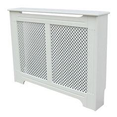 Victorian Radiator Cabinet White 1220 X 210 918mm
