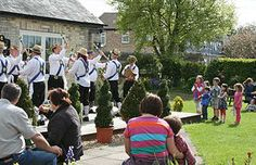 Morris Men are confirmed for this year - everyone so enjoyed them in 2013 - the kids thought they were so funny!