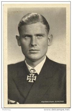 Joachim Schepke (8 March 1912 – 17 March 1941) was a German U-boat commander during World War II. He was the seventh recipient of the Knight's Cross of the Iron Cross with Oak Leaves.
