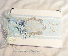 Mój mały świat: Księga Gości Wedding Anniversary, Wedding Cards, Decorative Boxes, Album, Home Decor, Notebooks, Wedding Anniversary Years, Wedding Ecards, Room Decor