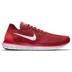Nike Mens Free RN Flyknit 2017 Size 11 TMRD/PURPLTNUNVRD600