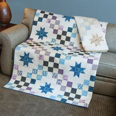 Hey guys! It's Jocelyn, and I'm here to introduce to you our newest It's Sew Emma pattern, Castle Courtyard. I was watching a quilt video and caught a glim
