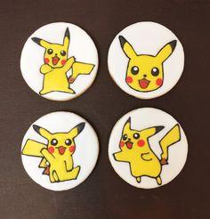 Pikachu Sugar Cookies/Pokemon Sugar Cookies