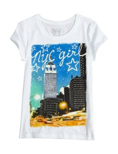 Stock up on the essentials with our selection of girls' basic tops & tanks. From long sleeves to short - find simple styles that are perfect for layering at Justice. Go Shopping, Girls Shopping, Nyc Girl, Shop Justice, Stylish Shirts, Kids Prints, Cute Fashion, Graphic Tees, Girl Outfits