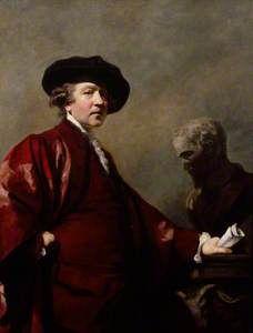 7/16- Happy Birthday, Sir Joshua Reynolds, English portrait painter, 1723-1792. Self Portrait.