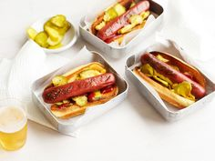 Kobe Beef Hot Dogs by Fossil Farms :}