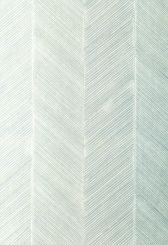 Schumacher's Chevron Texture wallpaper in Mineral