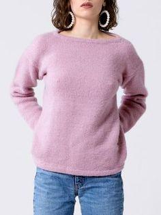 Kostenlose Strickanleitung: Oversize-Pullover - Initiative Handarbeit