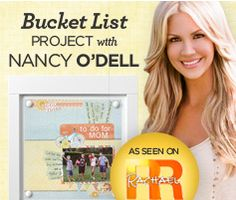 Working to earn lunch with Nancy O'Dell!  Contact me to see how you can help!