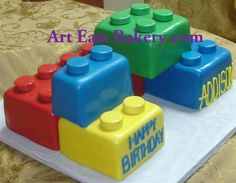I think we're gonna have to do a lego kid's birthday in a few years. Cake pictures and designs - creative fondant cake designs for children 2 Creative Birthday Cakes, Creative Cakes, Fondant Cake Designs, Birthday Cake Pictures, Cake Decorating Techniques, Decorating Ideas, Lego Cake, Lego Birthday, Cakes For Boys