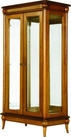 A Cristaleira Império é toda espelhada, refletindo a decoração e beleza do seu ambiente! Disponível em outros acabamentos. Medidas: 89 x 174,5 x 52cm. http://www.moradamoveis.com/