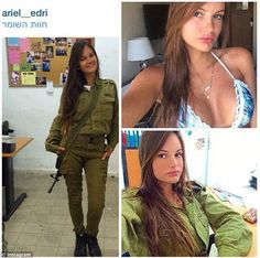 "Képtalálat a következőre: ""IDF - Israel Defense Forces - Women"" Female Army Soldier, Israeli Female Soldiers, Idf Women, Military Women, Israeli Girls, Military Girl, Girls Uniforms, Poses, Professional Women"