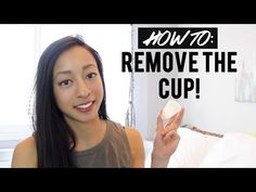 HOW TO REMOVE THE CUP (Diva Cup) - YouTube Aunt Flo, Menstrual Cup, Diva, How To Remove, Medical, Take That, Skin Care, Exercise, Health