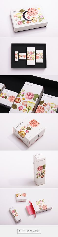 Project Charisma - Camellia #packaging by BLOW - http://www.packagingoftheworld.com/2014/12/project-charisma-camellia.html