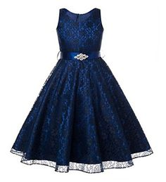 5eec60efe1695f online shopping for Sweetylife V-Neck Lace Short Girls Formal Occasion  Flower Girl Dress Princess Dresses With Belt from top store.