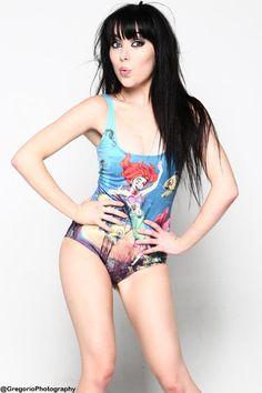 Zombie Ariel Swimsuit