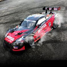 Super GT RC Sport Racing Drift Car 1:16 Remote Control Module 4WD RTR with 6 and
