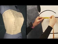 Making a Bustier Bodice - Free Full Lesson! - YouTube