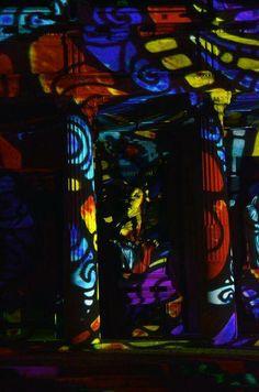 Múzeumok Éjszakája - Fiumei Úti Sírkert - Night Projection fényfestés  #MuzeumokEjszakaja #NightProjection #fenyfestes #raypainting #visuals