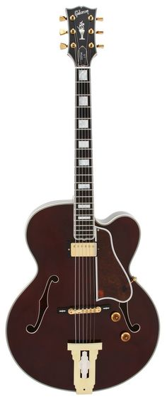 Gibson Electric Guitar   Custom Shop 1996 L5 Wes Montgomery Wine Red   Rainbow Guitars