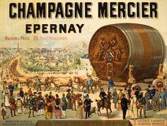 1889 - Exposition universelle de Paris - Union des Maisons de Champagne