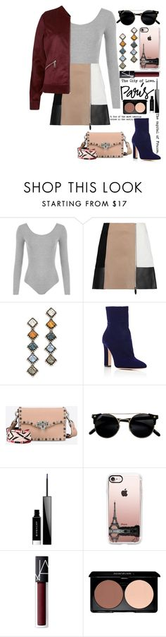 """Untitled #295"" by collie-elapo-smith ❤ liked on Polyvore featuring WearAll, Alexander Wang, DANNIJO, Gianvito Rossi, Valentino, Givenchy, Casetify, NARS Cosmetics and River Island"