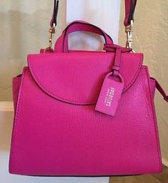Kate Spade Saturday The Mini A Satchel Rose Pink Pebble Leather