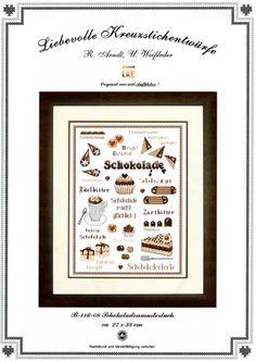 Gallery.ru / Schokoladenmustertuch - B-116-08 - Schokoladenmustertuch - Ulrike