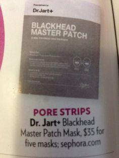 Dr Jart blackhead patch