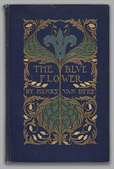 The Blue Flower Binding designed by Margaret Neilson Armstrong (American, New York 1867–1944 New York)