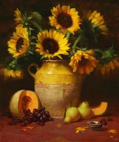 Elizabeth Robbins Pruitt - Still Life Artist and Portrait Painter I absolutely appreciate this artist's style...still lives are generally not my favorite form but Pruitt;s I love