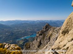 Aussicht etwas unterhalb des Pic de Morgon (mit 2347m Höhe) auf den Lac de Serre-Poncon, Hautes-Alpes, Frankreich - Foto: Mario Hübner