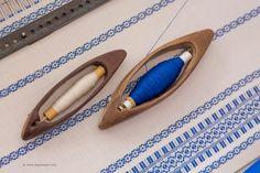 Traditional, mesmerising loom weaving