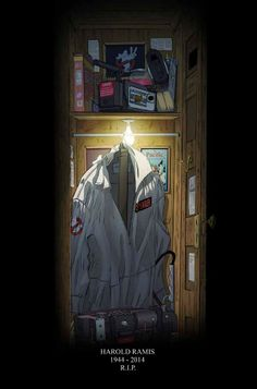 A heartfelt tribute to #HaroldRamis from the #Ghostbusters comic book team at #IDW. He will live on in our comics!