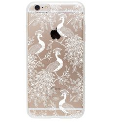 Rifle Paper Co. - Peacock - Protective Iphone Cover