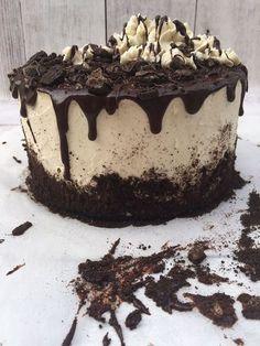 Oreotorte mit Schokolade und Frischkäse