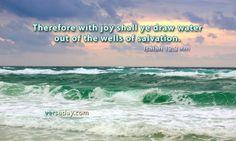 Isaiah 12:3 - Verse for May 30