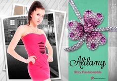 A night out at the club with this Alilang mini and purple jeweled pendant does the trick to turn some heads.  You can win a gift card up to $250.00 for Alilang just by entering your favorite outfit or picture at www.Modera.co.   http://www.alilang.com/index.php