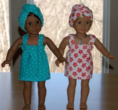 Sewing for American Girl Dolls Blog with some good information.