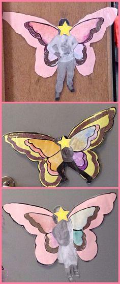 Thema Elfjes/Fairies: eigen foto met glittervleugeltjes...