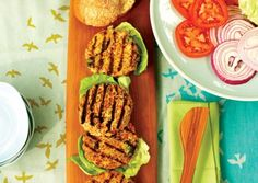 Mediterranean Veggie Burgers   Vegetarian Times