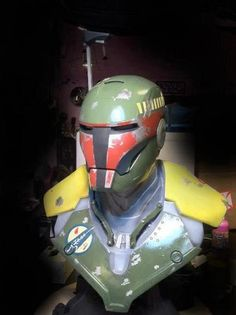 Iron Man gets a Boba Fett makeover
