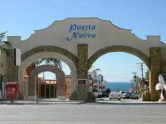 Puerto Nuevo, Baja California, Mexico - with the BEST lobster I've ever tasted