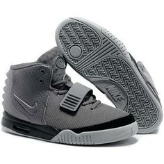 http://www.anike4u.com/ Nike Air Yeezy 2 Grey Black Kanye West 2013 Mens Nike Shoes AAA Grade 998MY17