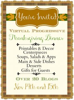 Worthing Court: Kickoff to Virtual Progressive Thanksgiving Dinner Party