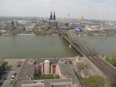 Vista da cidade de Colônia - Alemanha