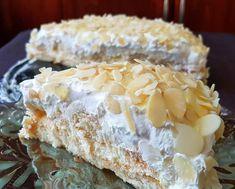 """1,747 """"Μου αρέσει!"""", 8 σχόλια - Απλές συνταγές βήμα βήμα (@aplessyntages) στο Instagram: """"Αγαπημένη τούρτα αμυγδάλου με μπισκότα σαβαγιαρ και μόνο με 6 υλικά!! Δείτε την συνταγή στο link…"""" Dairy, Sweets, Cheese, Desserts, Recipes, Instagram, Food, Tailgate Desserts, Deserts"""