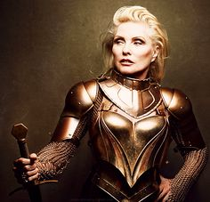 deborahharry:    Debbie photographed by Annie Leibovitz for Vanity Fair, February 2014